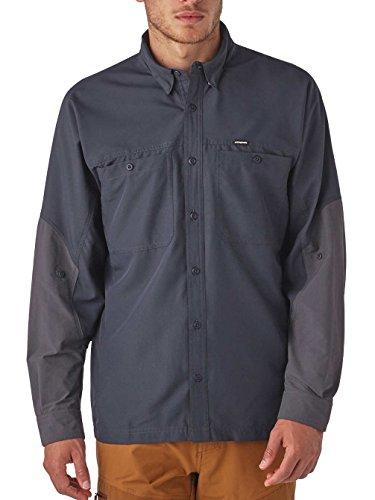Herren Hemd lang Patagonia Lightweight Field Hemd smolder blue