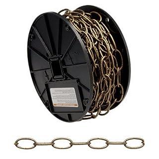 Apex Tool Group Llc - Chain 0722003 #10 X 40' Antique Brass Decorator Chain Reel