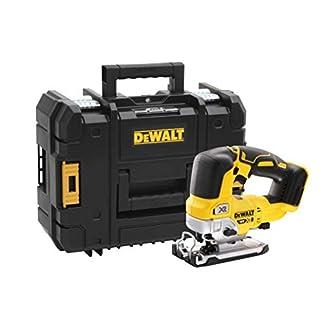 DeWalt batería Sierra de calar dcs334nt, 18V, Amarillo/Negro, Tstak Box, sin batería y