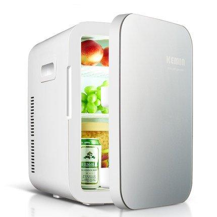Sunjun 20LDual-Kühl Auto Mini-Kühlschrank Haushaltsklein Refrigeration Hostel Kosmetik Kühltransportbehälter ( Farbe : Blau )