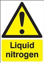 A5nitrógeno líquido señal de peligro.