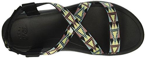 Teva 1009807 - Sandali Donna Nero (Mosaic Black/Multi MbmtMosaic Black/Multi Mbmt)