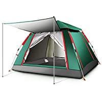 Floving Ourdoor 2-4 Person Pop Up Tent Sports Camping Hiking Travel Tent with Carrying Bag 11