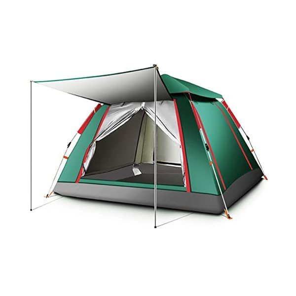 Floving Ourdoor 2-4 Person Pop Up Tent Sports Camping Hiking Travel Tent with Carrying Bag