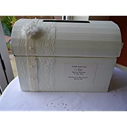 Buzón de correos para bodas con texto a personalizar