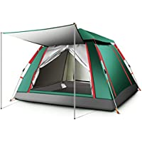 Ourdoor 3-5 Person Pop Up Tent Sports Camping Hiking Travel Tent with Carrying Bag