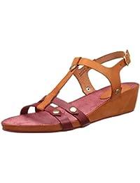 Amazon.it  Arancione - Sandali   Scarpe da donna  Scarpe e borse 2a53f6369cf
