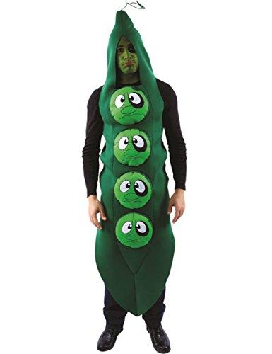 Costume Carnevale Travestimento Black Eyed Peas cibo e musica - adulto