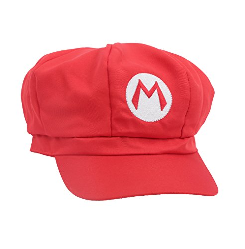 Super Mario Bros: Mario Cotton Elastic RED Hat Cosplay Party