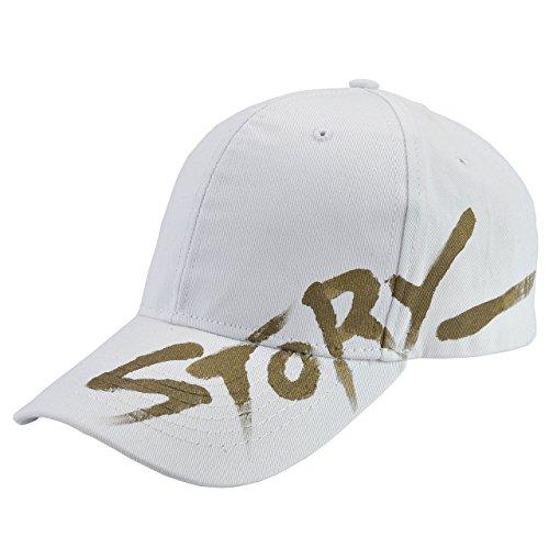 Faleto Herren Damen Basecap Baseball Cap mit Print