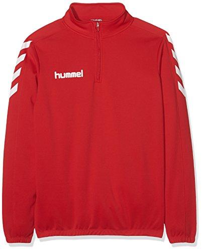 Hummel Jungen Sweatshirt Core 1/2 Zip True Red, 164-176