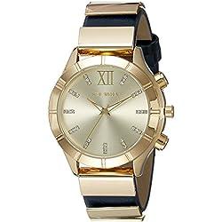 Steve Madden Analog Gold Dial Women's Watch - SMW056G-NB