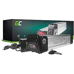 GC® EBIKE Batería 48V 11.6Ah Bicicleta Eléctrica Silverfish Li-Ion con Celdas Panasonic y Cargador Ranger Ten-X Felt Revobike