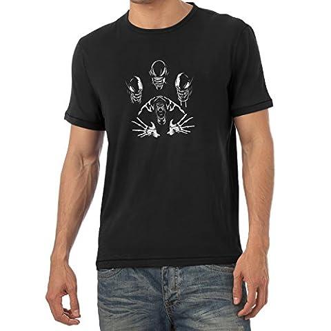 TEXLAB - The Extraterrestrial Queen - Herren T-Shirt, Größe L, schwarz
