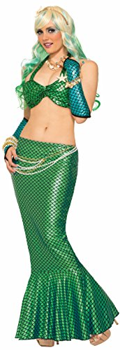 stume Skirt Green One Size (Mermaid Tail Skirt)