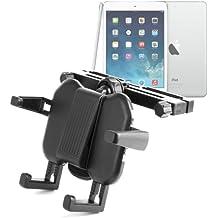 DURAGADGET Soporte Reposacabezas Para Coche De 4 Brazos El Nuevo Tablet iPad Air Modelos Wi-Fi, Wi-Fi+ Cellular, Tablet Acer Modelo Iconia W4 Windows 8.1