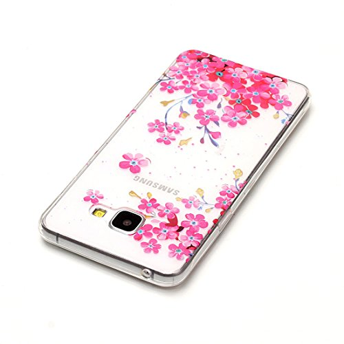 Lotuslnn iPhone 7 Plus Conque- Anti-Scratch Protection Etui Pour iPhone 7 Plus TPU Silicone Soft Cover ( Coque, Stylus Pen ,Screen Protector )-Donuts Plum blossom