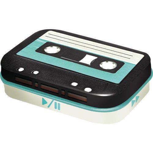Nostalgic-Art - Retro Wave Retro Cassette - Pillendose - 4x6x1,6cm