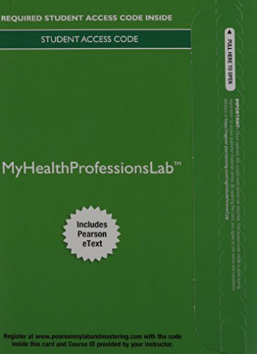 MyHealthProfessionsLab with Pearson eText --Access Card--for MIBC for Rich/Medical Coding:A Journey
