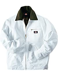 Dickies - JC58 Flannel Lined Jacket, Size: Medium, Color: White
