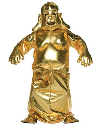 Golden Buddha Deluxe Adult Costume -