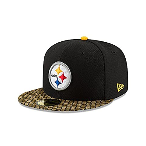 New Era 59Fifty Cap - NFL SIDELINE 2017 Pittsburgh Steelers