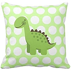 Cute Green Dinosaur pillow case 1818