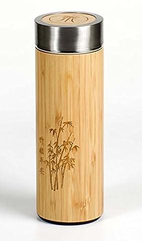 Für Kaffee und Tee - Thermobecher für Indoor und Outdoor. -Aus doppelwandigem, vakuumisoliertem hochwertigstem Edelstahl mit
