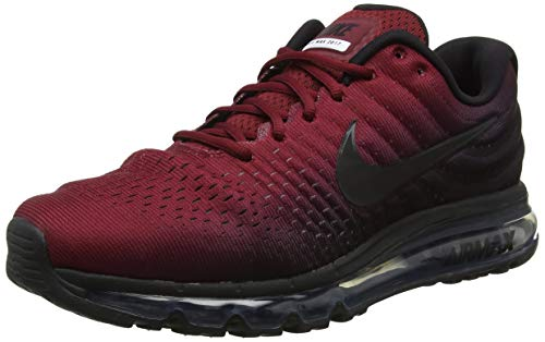 best cheap 9130e 794c7 Nike Men s Air Max 2017 Competition Running Shoes, Multicolour Black Team  Red 001,