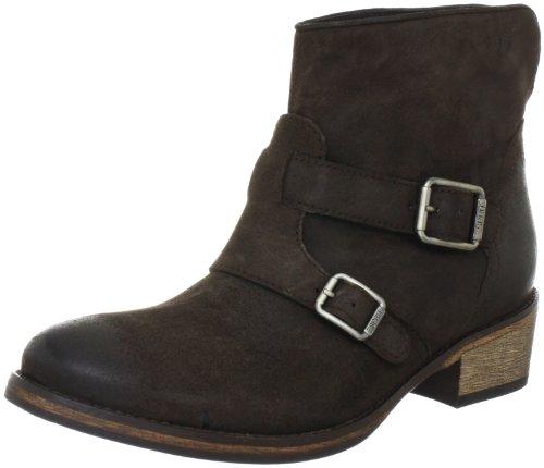 ESPRIT Queenie Buckle Boot I10370 Damen Fashion Halbstiefel & Stiefeletten Braun (dark mocca 233)