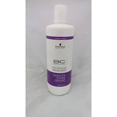 Schwarzkopf Professional BC Hair Therapy Smooth Shine Conditioner 1000 ml With Free Ayur Sunscreen 50 ml  available at amazon for Rs.2160