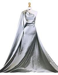 139c6c3b73089b Premium Qualität Plain Stretch Satin Shiny Spandex Stoff Braut Kleid  Material
