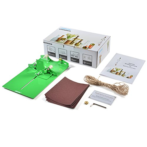 New Bottle Cutter Kit, AGPtek Glass Bottle Cutter Scoring Machine Cutting Tool for Creating Stained Glass, Bottle Planters, Bottle Lamps, Candle Holders Test