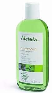 Melvita Shampoing cheveux gras Bardane et HE de Romarin bio 200ml