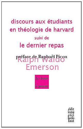 discours-aux-tudiants-en-thologie-de-harvard-suivi-de-le-dernier-repas