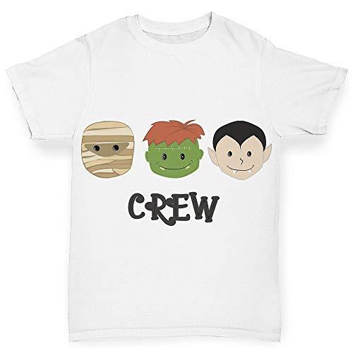 Junge Kostüm Kleiner Frankenstein - TWISTED ENVY Halloween-Kostüm für Jungen Gr. 18-24 Monate, weiß