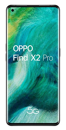 Oferta de OPPO Find X2 PRO 5G – Smartphone de 6.7 (OLED, 12GB/512GB, Octa-core, cámara trasera 48MP+48MP+13MP, cámara frontal 32MP, 4.260 mAh, Android 10, Snapdragon 865) Negro
