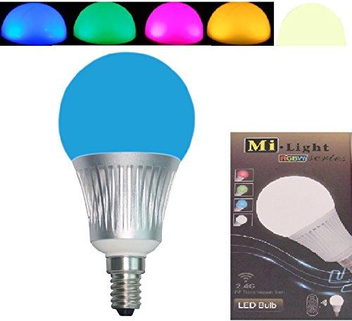 Erweiterung 1x E14 5W RGB+Warm Weiss ALLES original Mi-Light 2,4G MILIGHT®