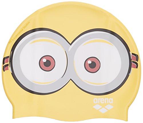 Arena Minions Jr, Badekappe Kinder und Jugendliche, gelb, Einheitsgröße