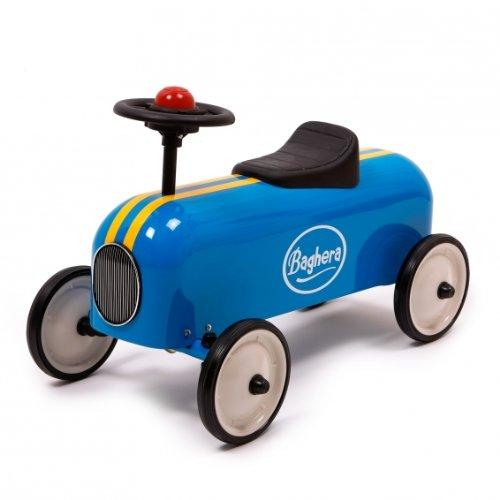 Baghera 803 - Rutscher Racer, blau, Metall, 57x35x40 cm, 1-3 Jahre, Rutschauto