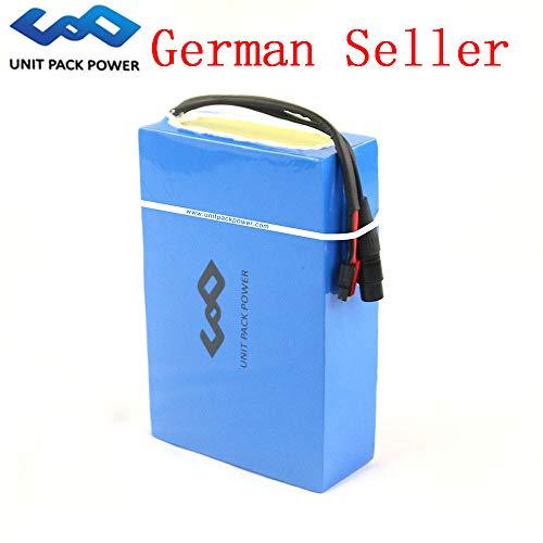 Großhandel Fabrik 48 V 20AH E-Bike Lithium-Batterie Wiederaufladbare wasserdichte Benutzerdefinierte Batterie Pack mit 50A BMS für 48 V 200 Watt-1800 Watt Elektrische Fahrradmotor (48V 20AH)