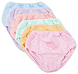 ZERO Unisex Panty (ZERO_PANTIES-Packof6--2-3 years, Multi-Coloured, 2-3 years)