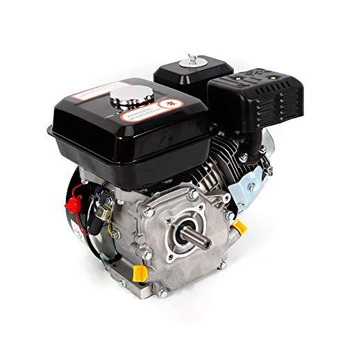 7,5 PS 5,1 kW Benzinmotor 4-Takt-Zwangsluftkühlung 210ml Verdrängung engine (Schwarz)