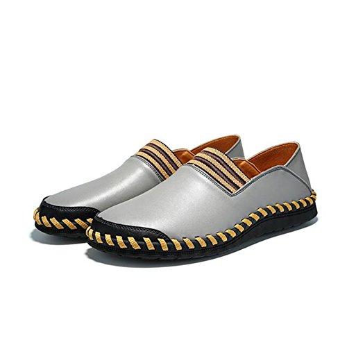 Confort Y Zapatos Oficina Slip De Huan Moda Partida Los La Primavera Casuales Junta Mocasines Conducción De Se Para Eté ons Gris La Ejecute Otoño Hombres OAxqxEg