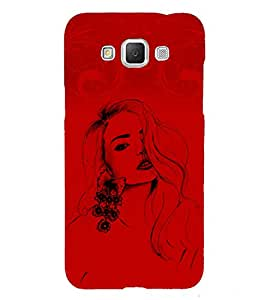 Stylish Girl 3D Hard Polycarbonate Designer Back Case Cover for Samsung Galaxy Grand 3 G720 :: Samsung Galaxy Grand Max G720