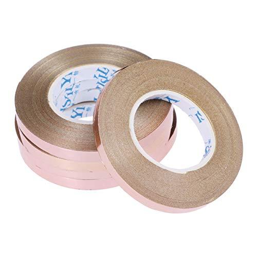 YeahiBaby Rose Gold Ribbon Geschenk Band Curling Band für Geschenk Geschenk Souvenir Handwerk 5 Stücke