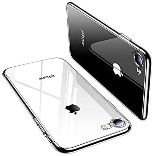TORRAS iPhone 7 Case, iPhone 8 Case, Crystal Clear [Anti-Yellow] Ultra Thin Slim Soft TPU Protective Case Cover for iPhone 7/iPhone 8 - Full Clear