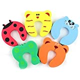 Syga Children Safety No Finger Pinch Foam Door Stopper (5 Pieces)