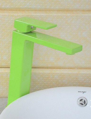 PJSKJZQ Lavabo Single Handle un foro in Pittura Lavandino rubinetto del bagno , clover - Clover Nastro