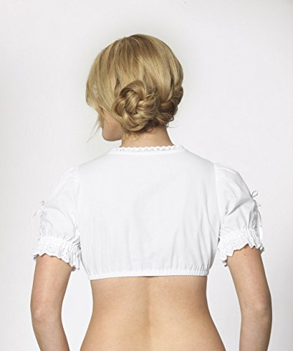 Michaelax-Fashion-Trade - Chemisier - Manches Courtes - Femme Blanc